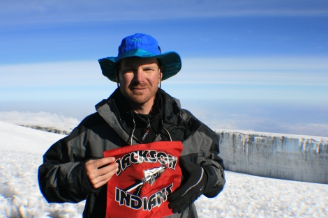 In the summer of 2008, Brad and his father climbed Mount Kilimanjaro in Tanzania, Africa.