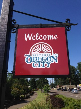 Oregon City Sign