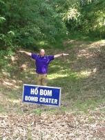 DMZ bomb crater