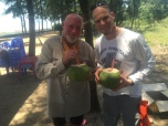 My right-hand...er...right-coconut man!